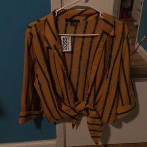 Never worn Striped shirt